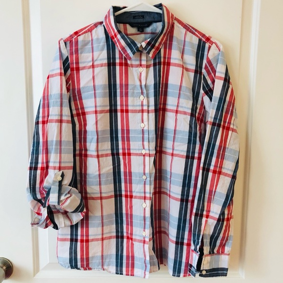 Tommy Hilfiger Other - Tommy Hilfiger Multicolor Button Front Shirt